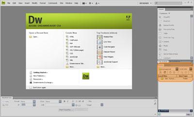 Folder baru muncul sebagai hasil setting